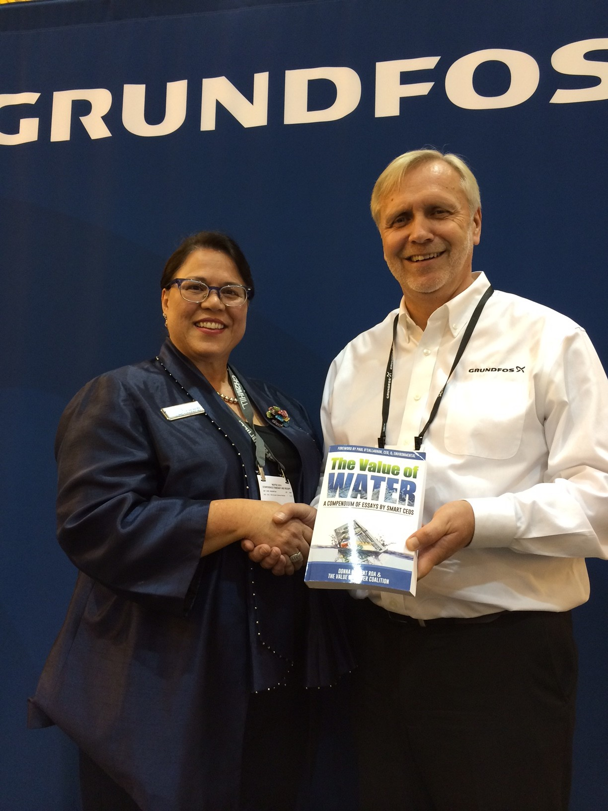 The Value of Water Book at WEFTEC